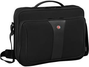 SwissGear / Wenger - 601672 - Swissgear Axiom Briefcase, Black Fits Up To 14-16in Laptop With A Tablet Pocket
