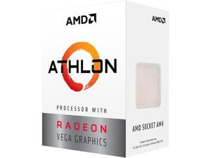 AMD Athlon 200GE 2-Core, 4-Thread, 3.2 GHz Base, Socket AM4 35W YD200GC6FBBOX Desktop Processor