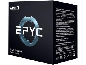 AMD EPYC 7702P 64-Core 2.0 GHz (3.35 GHz Max Boost) Socket SP3 200W 100-100000047WOF  Server Processor
