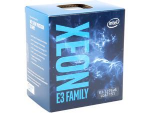 Intel Xeon E3-1275 V6 Kaby Lake 3.8 GHz (4.2 GHz Turbo) LGA 1151 73W BX80677E31275V6 Server Processor Intel HD Graphics P630
