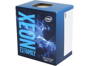 Intel Xeon E3-1225 V6 Kaby Lake 3.3 GHz (3.7 GHz Turbo) LGA 1151 73W BX80677E31225V6 Server Processor Intel® HD Graphics P630