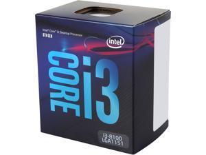 Intel Core i3-8100 Coffee Lake Quad-Core 3.6 GHz LGA 1151 (300 Series) 65W BX80684I38100 Desktop Processor Intel UHD Graphics 630
