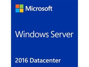 Microsoft Windows Server 2016 Datacenter License and Media 24 Core Box Pack (P71-08670)