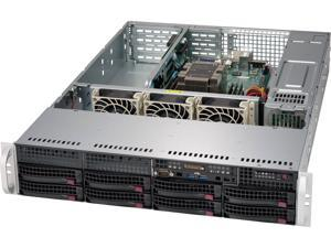 Supermicro System SYS-5029P-WTR 2U Xeon C622 Socket 3647 8 x 3.5 Hot-swap SATA3 PCIE Brown Box