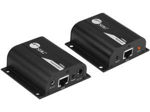 AVUE Wall Plate HDMI Extender Over Cat5e or Cat6 Cables up to 200 Feet with IR Support 3D