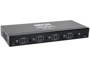 Tripp Lite 4x4 HDMI Over Cat5 / Cat6 Matrix Splitter Switch , Transmitter for Video and Audio, 1080p at 60Hz(B126-4X4)