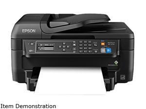 EPSON WorkForce WF-2750 (C11CF76201) Duplex 4800 dpi x 1200 dpi wireless/USB color Inkjet All-in-One Printer