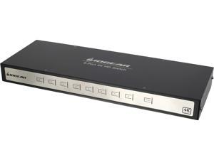IOGEAR True 4K 8-Port Switcher with HDMI connection (TAA Compliant) GHSW8481