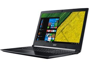 "Acer Laptop Aspire 5 Intel Core i5 7th Gen 7200U (2.50 GHz) 8 GB Memory 1 TB HDD NVIDIA GeForce MX150 15.6"" FHD 1920 x 1080 Windows 10 Home 64-Bit Obsidian Black A515-51G-58GZ"