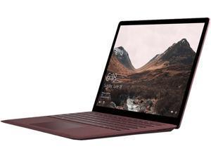 "Microsoft Surface Laptop DAL-00037 Intel Core i7 7th Gen 7660U (2.50 GHz) 16 GB Memory 512 GB SSD Intel Iris Plus Graphics 640 13.5"" Touchscreen Windows 10 S - Burgundy"