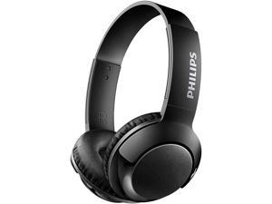 Philips SHB3075BK BASS+ Wireless Bluetooth On-Ear Headphones with Mic - Black