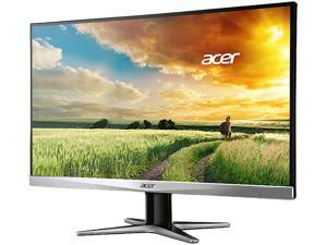 "Acer G7 Series G247HYU Black/Silver 23.8"" WQHD 2560 x 1440 (2K) IPS 4ms (GTG) Black LED Backlight LCD Monitor, Slim Frame Design w/ Acer Flicker Less Technology, Visual Comfortable & Build in Speakers"