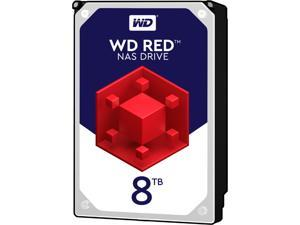 WD Red 8TB NAS Hard Disk Drive - 5400 RPM Class SATA 6Gb/s 256MB Cache 3.5 Inch - WD80EFAX