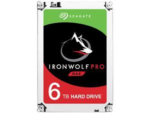 "Seagate IronWolf Pro 6TB NAS Hard Drive 7200 RPM 256MB Cache SATA 6.0Gb/s 3.5"" Internal Hard Drive ST6000NE0023"