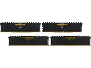 CORSAIR Vengeance LPX 32GB (4 x 8GB) 288-Pin DDR4 SDRAM DDR4 3200 (PC4 25600) AMD X399 Compatible Desktop Memory Model CMK32GX4M4B3200C16