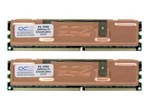 OCZ 512MB (2 x 256MB) 184-Pin DDR SDRAM DDR 433 (PC 3500) Dual Channel Kit Desktop Memory Model OCZ433512ELDCK