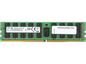 SAMSUNG 16GB 288-Pin DDR4 SDRAM ECC Registered DDR4 2133 (PC4 17000) Server Memory Model M393A2G40DB0-CPB
