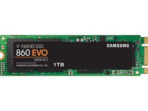 SAMSUNG 860 EVO Series M.2 2280 1TB SATA III V-NAND 3-bit MLC Internal Solid State Drive (SSD) MZ-N6E1T0BW