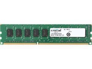 Crucial 4GB 240-Pin DDR3 SDRAM ECC Unbuffered DDR3 1066 (PC3 8500) Desktop Memory Model CT51272BA1067