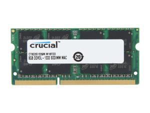 Crucial 8GB DDR3 1333 (PC3 10600) Memory for Apple Model CT8G3S1339M