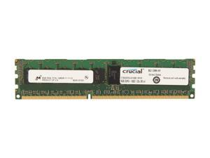 Crucial 8GB 240-Pin DDR3 SDRAM ECC Registered DDR3 1600 (PC3 12800) Server Memory Model CT8G3ERSLS4160B