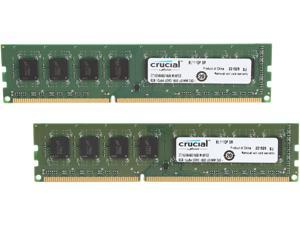 Crucial 16GB (2 x 8GB) 240-Pin DDR3 SDRAM DDR3L 1600 (PC3L 12800) Desktop Memory Model CT2K102464BD160B