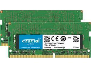Crucial 16GB (2 x 8GB) DDR4 2666MHz DRAM (Notebook Memory) CL19 1.2V SR SODIMM (260-pin) CT2K8G4SFS8266