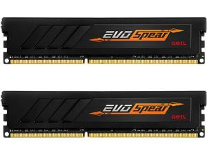GeIL EVO SPEAR AMD Edition 8GB (2 x 4GB) 288-Pin DDR4 SDRAM DDR4 2400 (PC4 19200) Desktop Memory Model GASB48GB2400C16DC