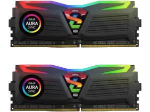 GeIL SUPER LUCE RGB SYNC 8GB (2 x 4GB) 288-Pin DDR4 SDRAM DDR4 2400 (PC4 19200) Desktop Memory Model GLS48GB2400C16DC