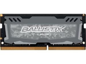 Crucial Ballistix Sport LT 2666 MHz DDR4 DRAM Laptop Gaming Memory Single 8GB CL16 BLS8G4S26BFSDK (Gray)