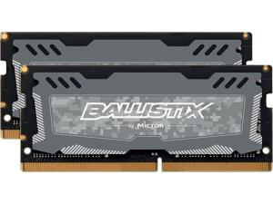 Ballistix Sport LT 16GB (2 x 8G) 260-Pin DDR4 SO-DIMM DDR4 2666 (PC4 21300) Memory (Notebook Memory) Model BLS2K8G4S26BFSDK
