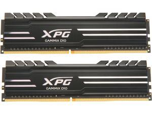 XPG GAMMIX D10 16GB (2 x 8GB) 288-Pin DDR4 SDRAM DDR4 3200 (PC4 25600) Desktop Memory Model AX4U320038G16-DB10
