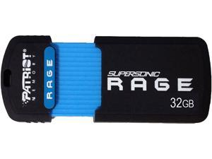 Patriot Memory 32GB Supersonic Rage USB 3.0 Flash Drive, Speed Up to 180MB/s (PEF32GSRUSB)