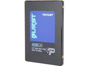 """Patriot Burst 2.5"""" 480GB SATA III Internal Solid State Drive (SSD) PBU480GS25SSDR"""