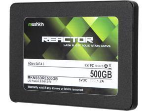 "Mushkin Enhanced Reactor 2.5"" 500GB SATA III MLC Internal Solid State Drive (SSD) MKNSSDRE500GB"