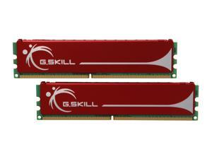G.SKILL 2GB (2 x 1GB) 240-Pin DDR2 SDRAM DDR2 800 (PC2 6400) Dual Channel Kit Desktop Memory Model F2-6400CL5D-2GBNQ