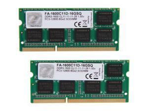 G.SKILL 16GB (2 x 8GB) DDR3 1600 (PC3 12800) Memory for Apple Model FA-1600C11D-16GSQ