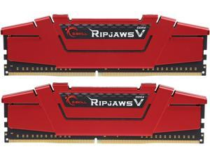 G.SKILL Ripjaws V Series 16GB (2 x 8GB) 288-Pin DDR4 SDRAM DDR4 3200 (PC4 25600) Desktop Memory Model F4-3200C16D-16GVRB