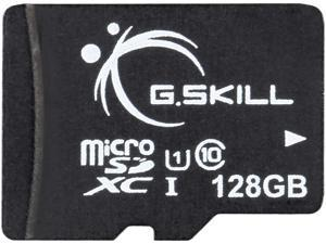 G.Skill 128GB microSDXC UHS-I/U1 Class 10 Memory Card with Adapter (FF-TSDXC128GA-U1A)