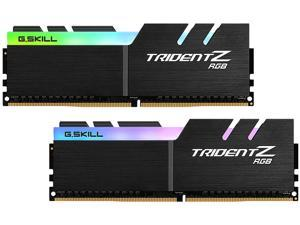 G.SKILL TridentZ RGB Series 16GB (2 x 8GB) 288-Pin DDR4 SDRAM DDR4 2400 (PC4 19200) AMD X370 / X399 Desktop Memory ...