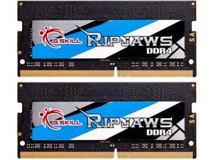 G.SKILL Ripjaws Series 16GB (2 x 8G) 260-Pin DDR4 SO-DIMM DDR4 2666 (PC4 21300) Laptop Memory Model F4-2666C19D-16GRS