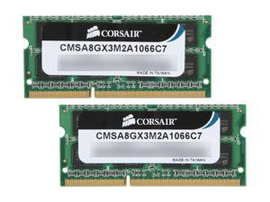 CORSAIR 8GB (2 x 4GB) DDR3 1066 (PC3 8500) Memory for Apple Model CMSA8GX3M2A1066C7