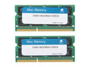 CORSAIR 16GB (2 x 8GB) DDR3 1333 (PC3 10600) Memory for Apple Model CMSA16GX3M2A1333C9