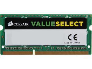 CORSAIR ValueSelect 8GB 204-Pin DDR3 SO-DIMM DDR3L 1600 (PC3L 12800) Laptop Memory Model CMSO8GX3M1C1600C11