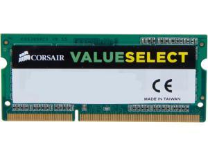 CORSAIR ValueSelect 4GB 204-Pin DDR3 SO-DIMM DDR3L 1600 (PC3L 12800) Laptop Memory Model CMSO4GX3M1C1600C11