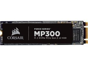 Corsair Force MP300 M.2 2280 240GB PCI-Express 3.0 x2, NVME 1.3 3D TLC Internal Solid State Drive (SSD) CSSD-F240GBMP300