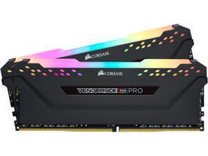 CORSAIR Vengeance RGB Pro 16GB (2 x 8GB) 288-Pin DDR4 DRAM DDR4 3200 (PC4 25600) Desktop Memory Model CMW16GX4M2C3200C16