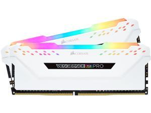 CORSAIR Vengeance RGB Pro 32GB (2 x 16GB) 288-Pin DDR4 SDRAM DDR4 3200 (PC4 25600) Desktop Memory Model CMW32GX4M2C3200C16W