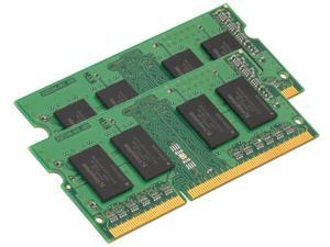Kingston 8GB (2 x 4GB) 204-Pin DDR3 SO-DIMM DDR3 1333 Laptop Memory Model KVR13S9S8K2/8