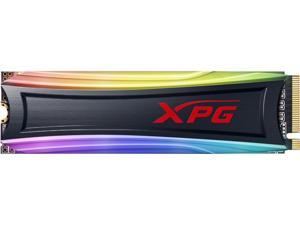 XPG SPECTRIX S40G RGB M.2 2280 1TB PCI-Express 3.0 x4 3D TLC Internal Solid State Drive (SSD) AS40G-1TT-C
